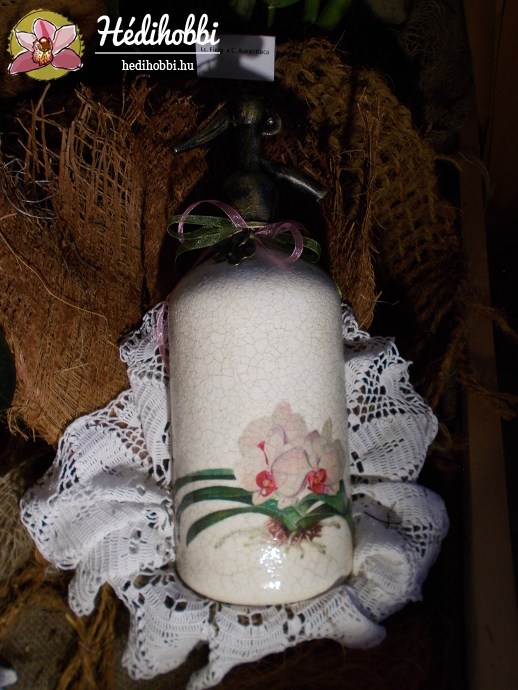 Orchideás szifon