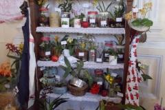 Orchideás stelázsi